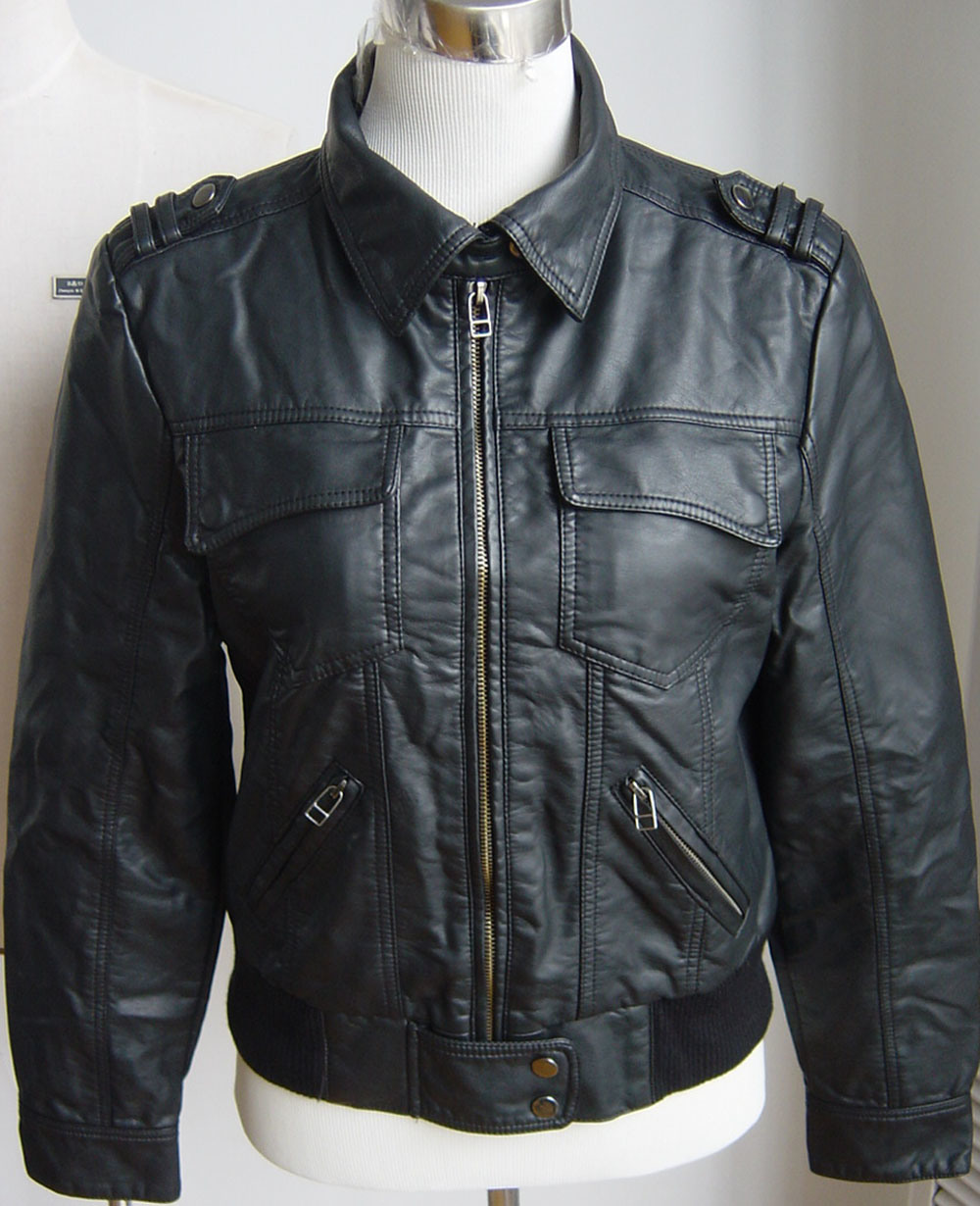 china pu leather jacket 47 china pu jacket washed pu
