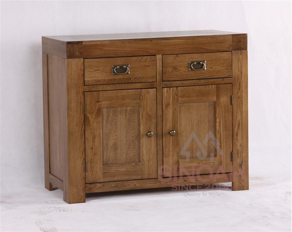 China Oak Wooden Furniture Sideboard Table Wood Buffet 2