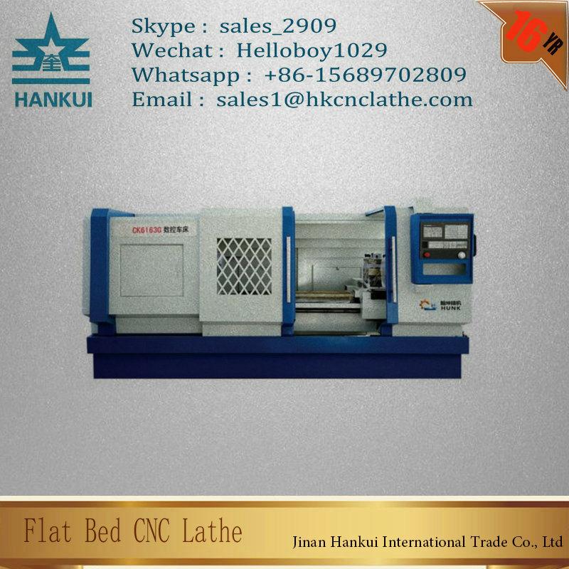 Ck6163 Siemens Controller CNC Horizontal Turning Lathe Factory Price