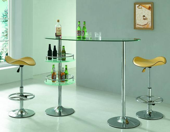 China Glass Bar Table Metal Bar Furniture Glass Table China Bar Table Bar Chair