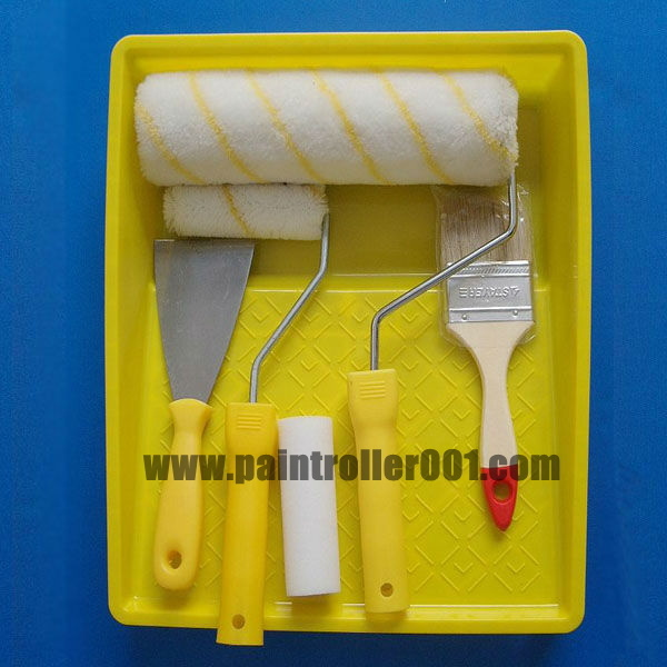 Paint Brush and Paint Roller Set Accessories with German Criteria