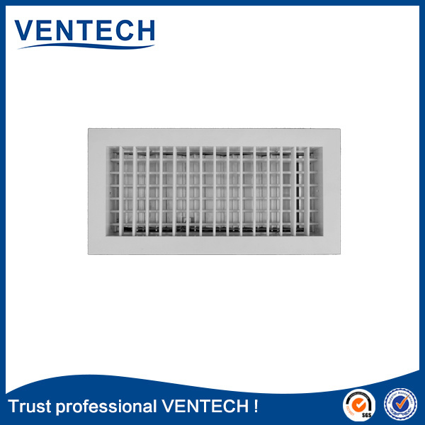 Hinged Type Air Register Grille for HVAC System