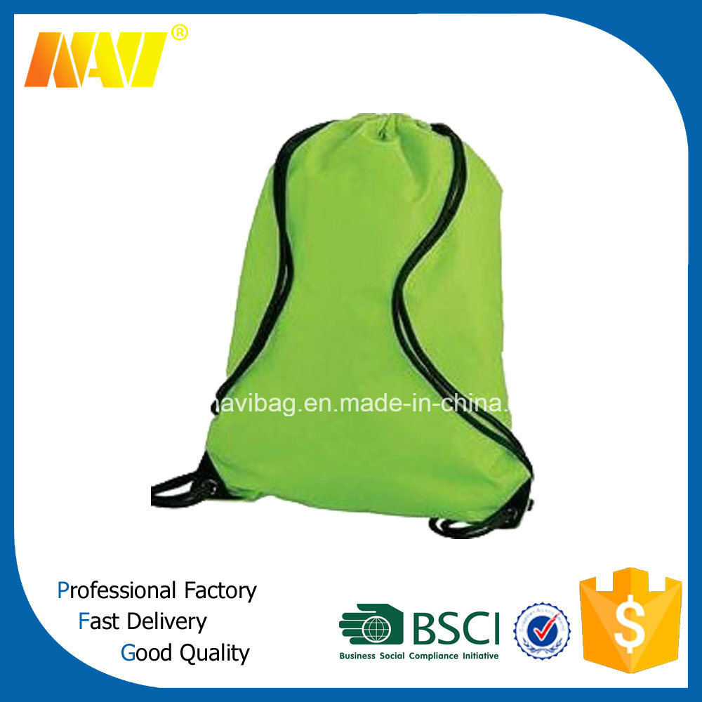 Cheap Price 210d Plain Drawstring Bag with Handle