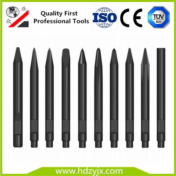 Soosan Sb81 Hydraulic Breaker Part Chisels for 140mm Diameter Breaker Hammers