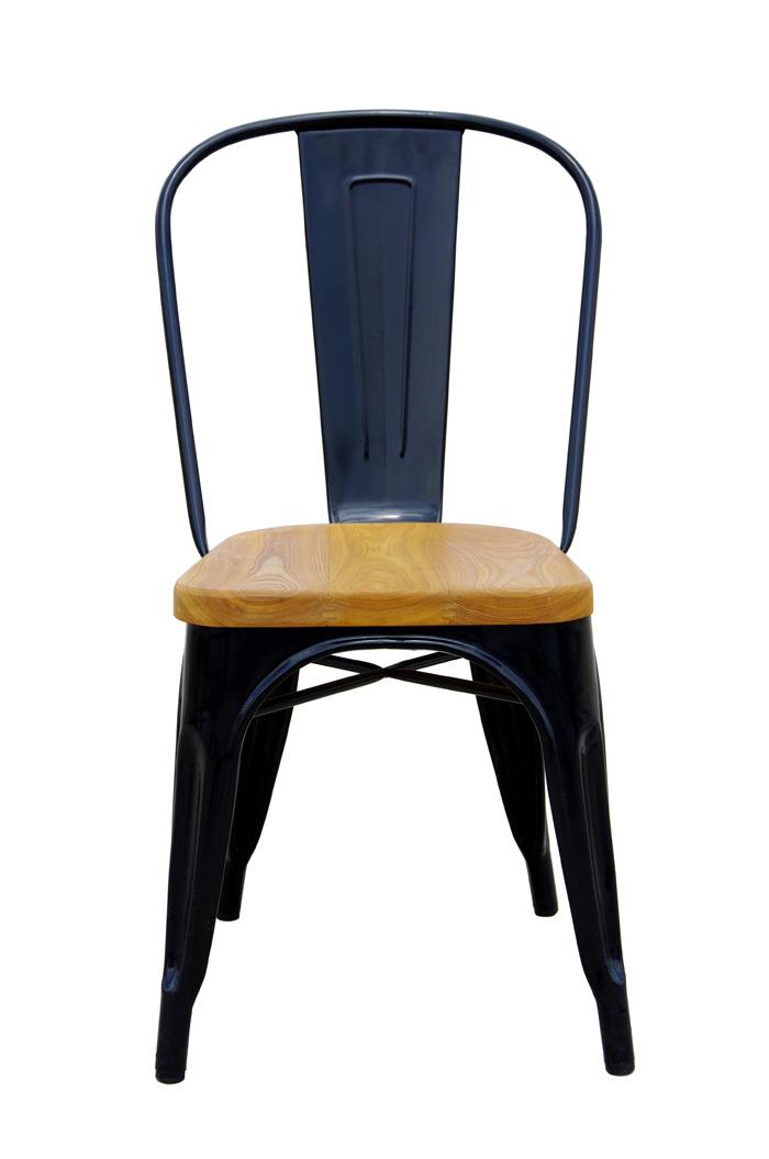 China Tolix Marais Metal Dining Restaurant Wooden Seat Chair - China Tolix, Marais  Chair