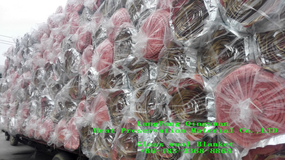 Building Roof Insulation Glass Wool 10k40
