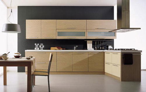 Melamine Kitchen Cabinet (ODR-K004) - China Kitchen Cabinet
