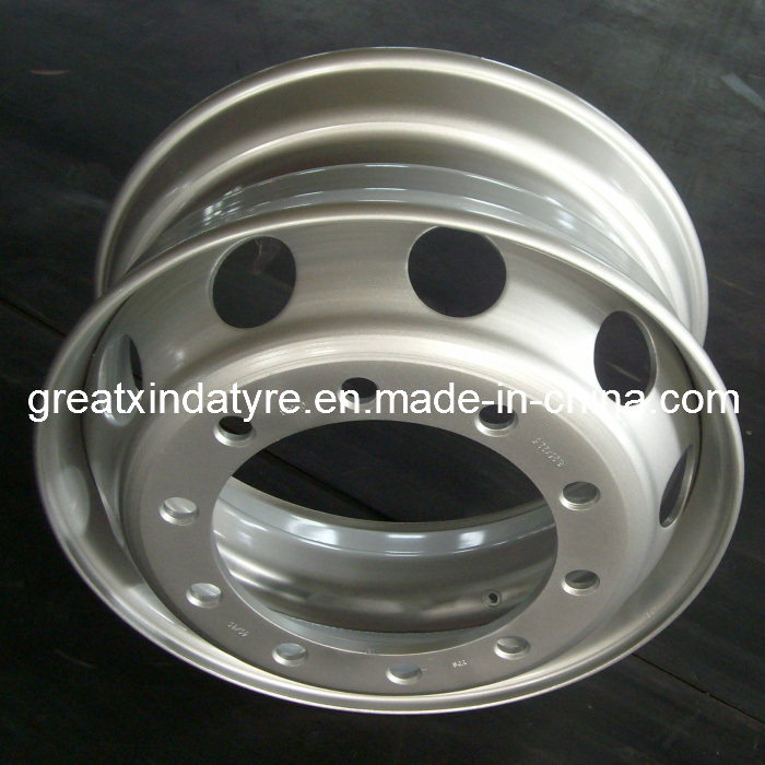 Truck Steel Wheel with TUV and DOT (22.5X9.00 22.5X8.25)