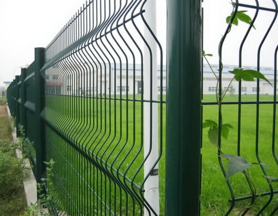 China wire mesh security fence