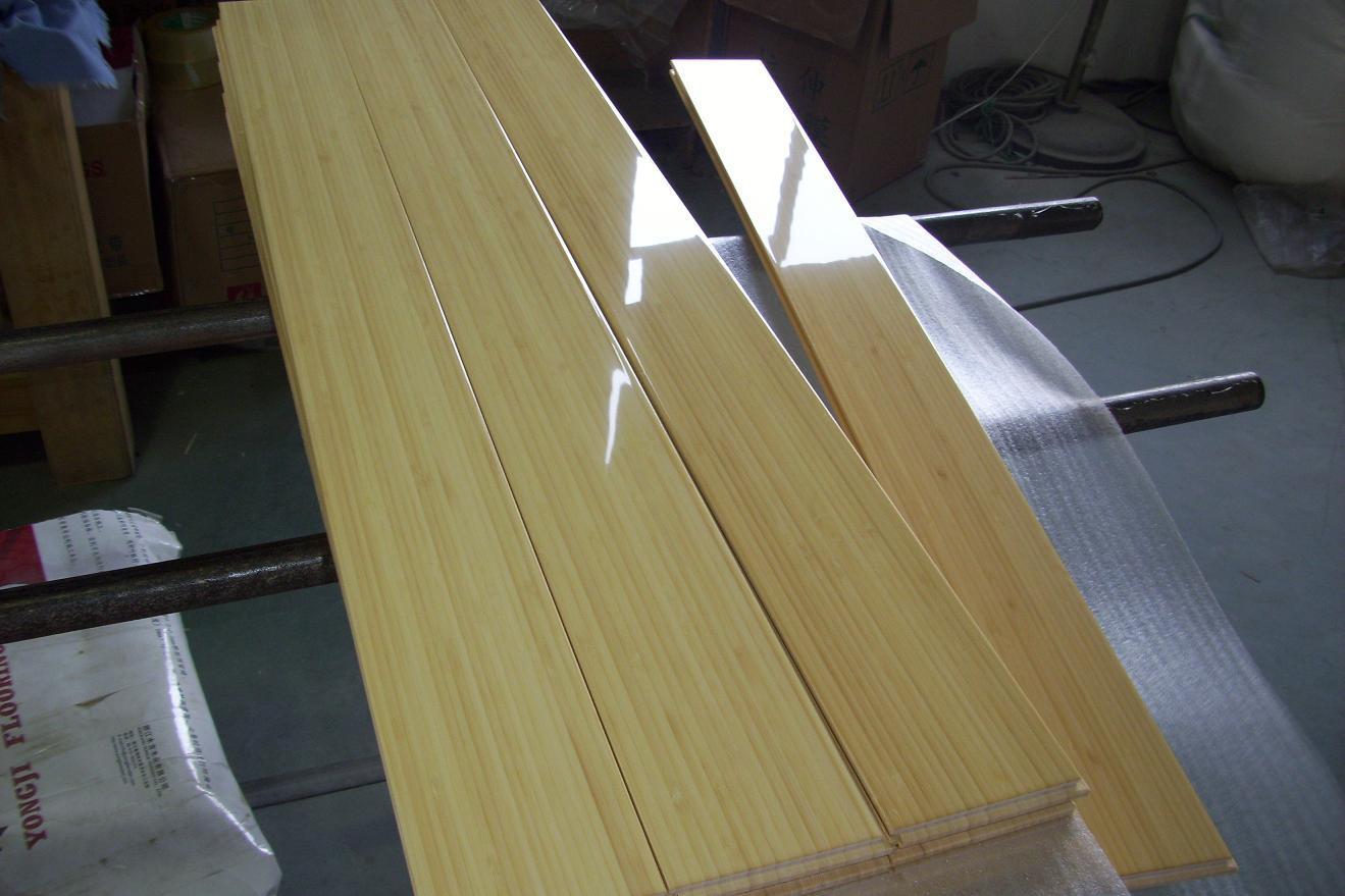 Suelo de bamb vertical natural suelo de bamb vertical - Suelo de bambu ...