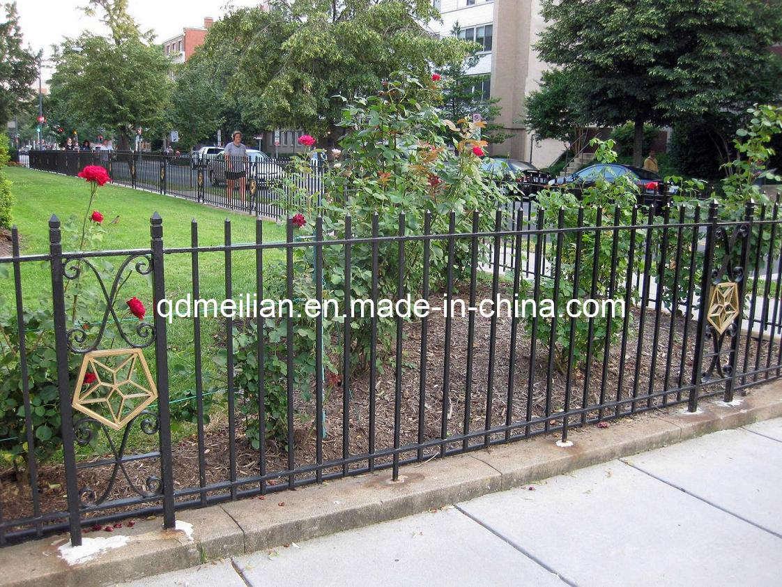 China garden steel fence