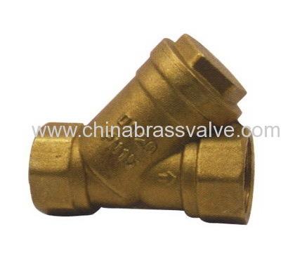 China Brass Y Type Strainer Valve Hjc06 China Brass