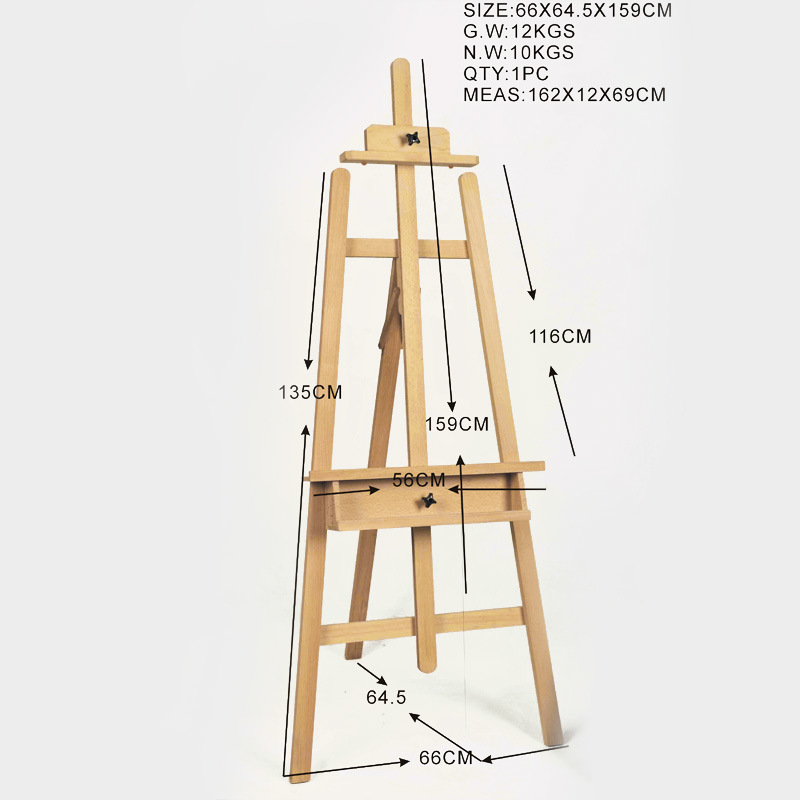 Pro Wooden Guide: Wood plans for easel