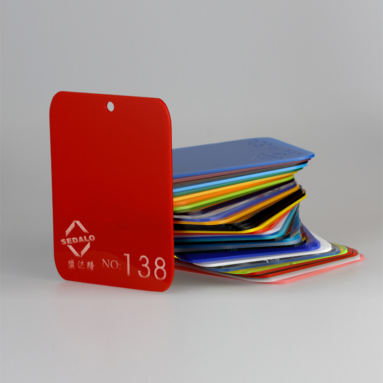 Red Cast Acrylic Sheet (SDL-138)