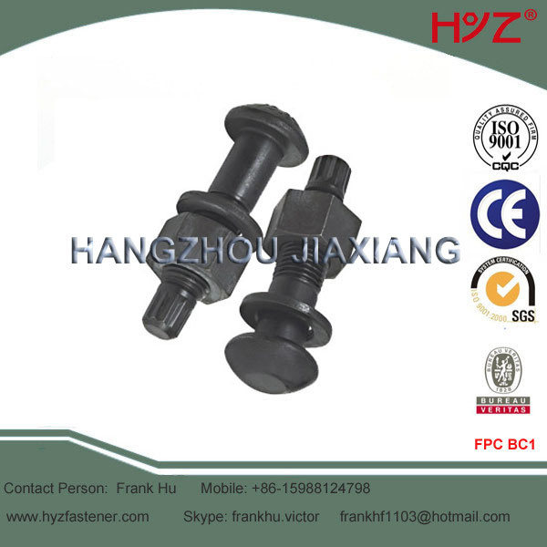 Alloy Steel Torsion Shear High Strength Bolts Grade 10.9