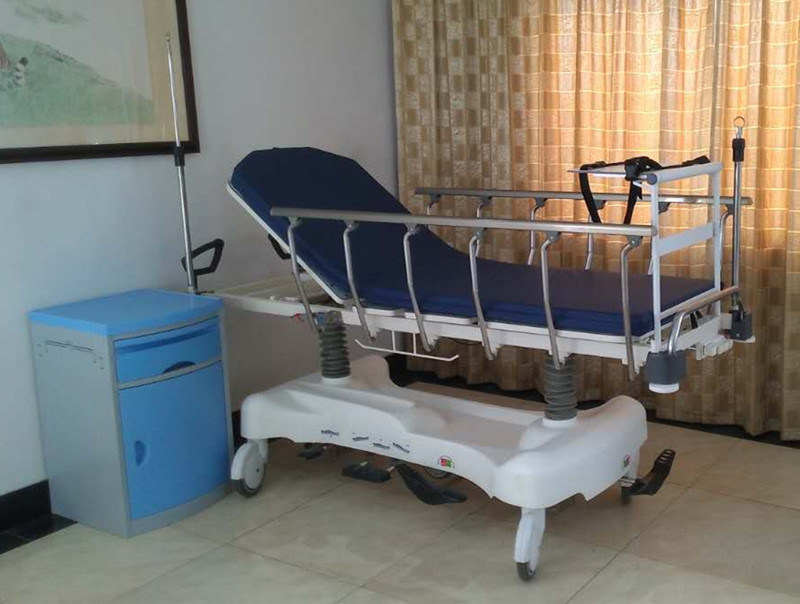 Sjm004-a Luxurious Hydraulic Rise-and-Fall Stretcher Cart
