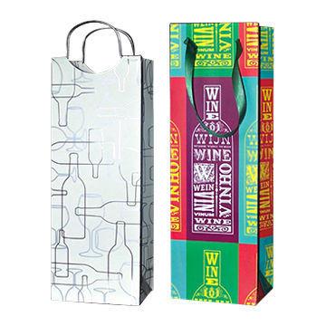 Paper Wine Handle Bag