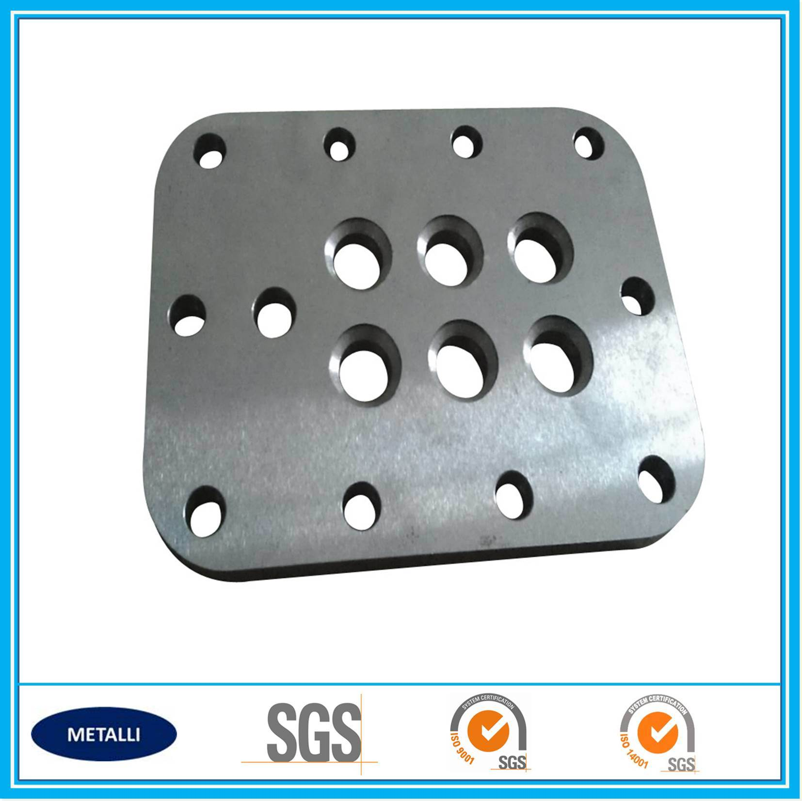 CNC Machining Mechanical Part Sealing Plate