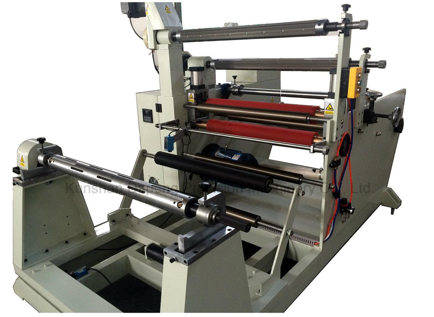 Laminating Aluminum Foil Slitting Rewinding Machine