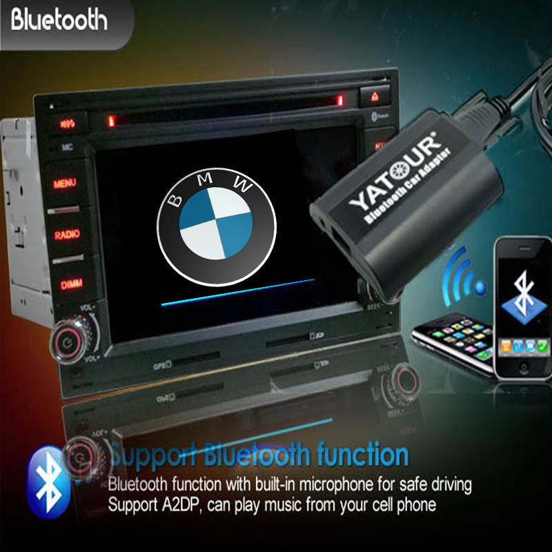 (E36/E38/E39/E46/X3/X5/Z4/Z8...) Kit Bluetooth for BMW