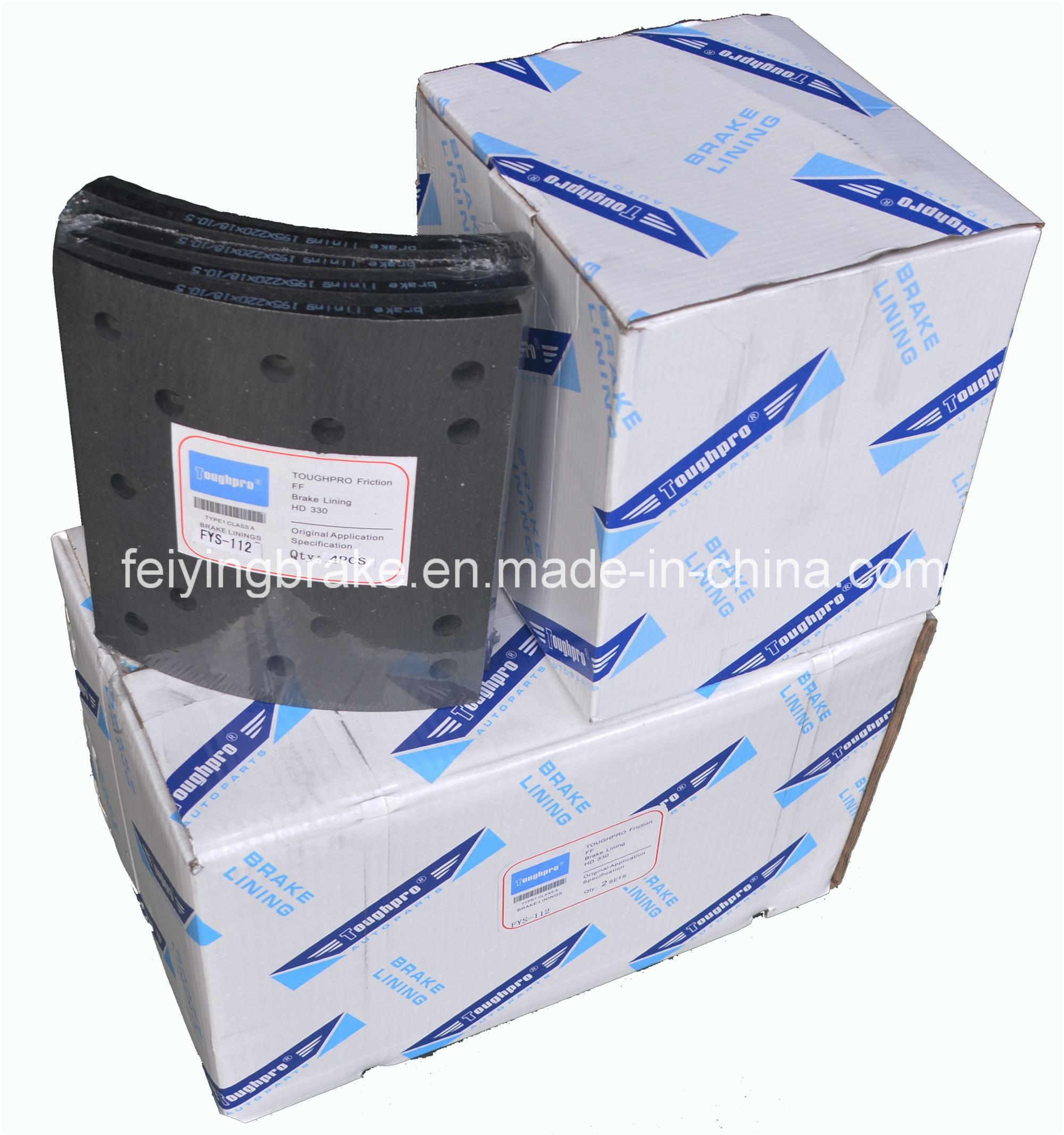 Japanese Trailler 44066-90118 Brake Lining Asbestos Free