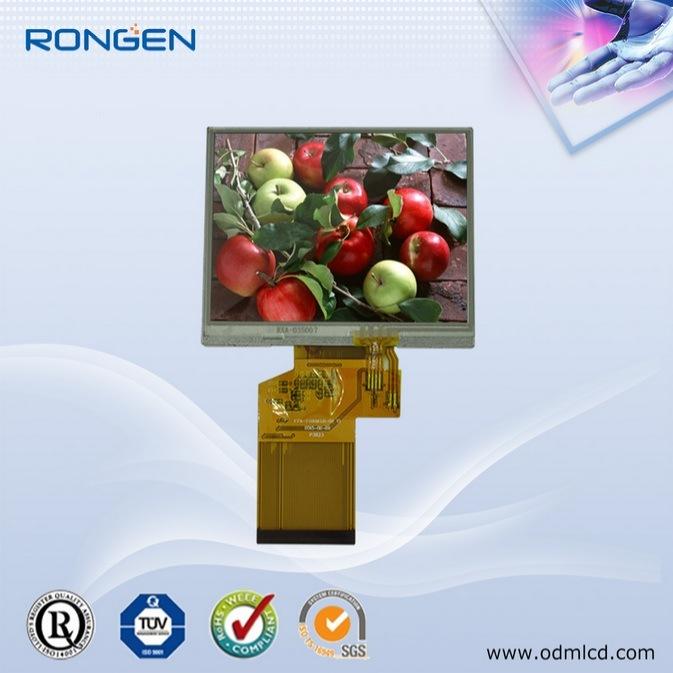 Rg-T035mlh-03 3.5inch TFT LCD 320X240 Mini Screen GPS Tracker Display