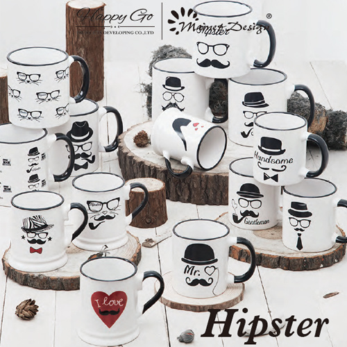 Customized Hot Selling Promotional High Quality Ceramic Beer Mug