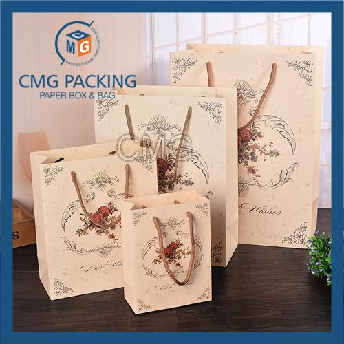 Carton Printed Matt Gift Paper Bag (CMG-MAY-057)