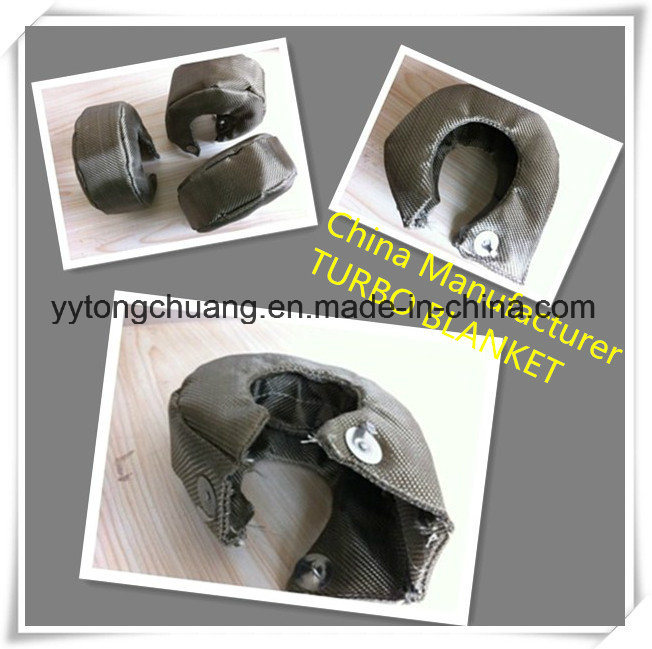 High Performance Automotive T3/T4/T6 Titanium Turbo Blanket Heat Shield