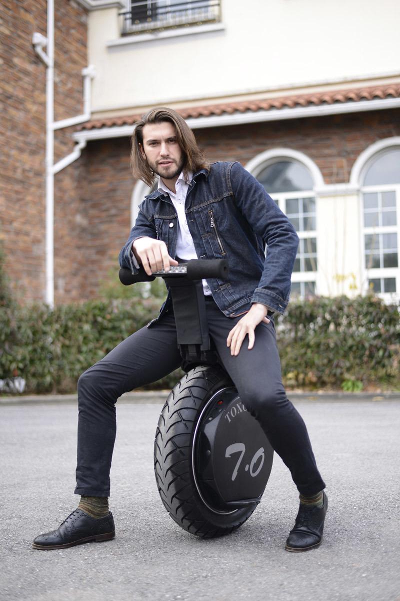 High Quality Aluminium Alloy Electric Smart Balance Unicycle