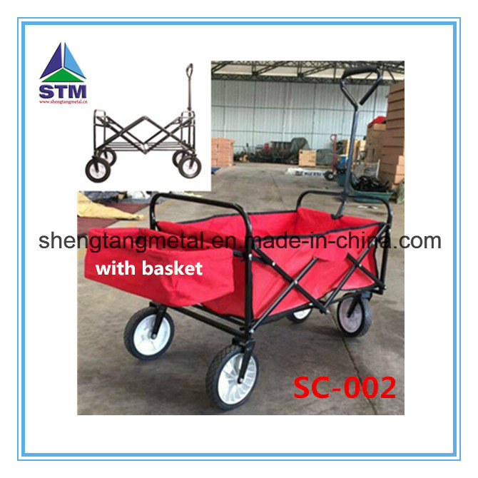 Foldable Shopping Finshing Cart