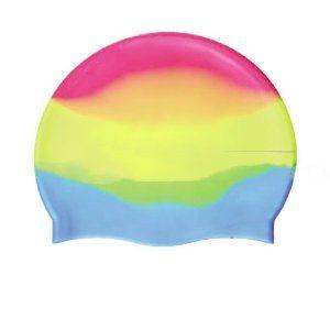 Colorful Silicone Swimming Cap
