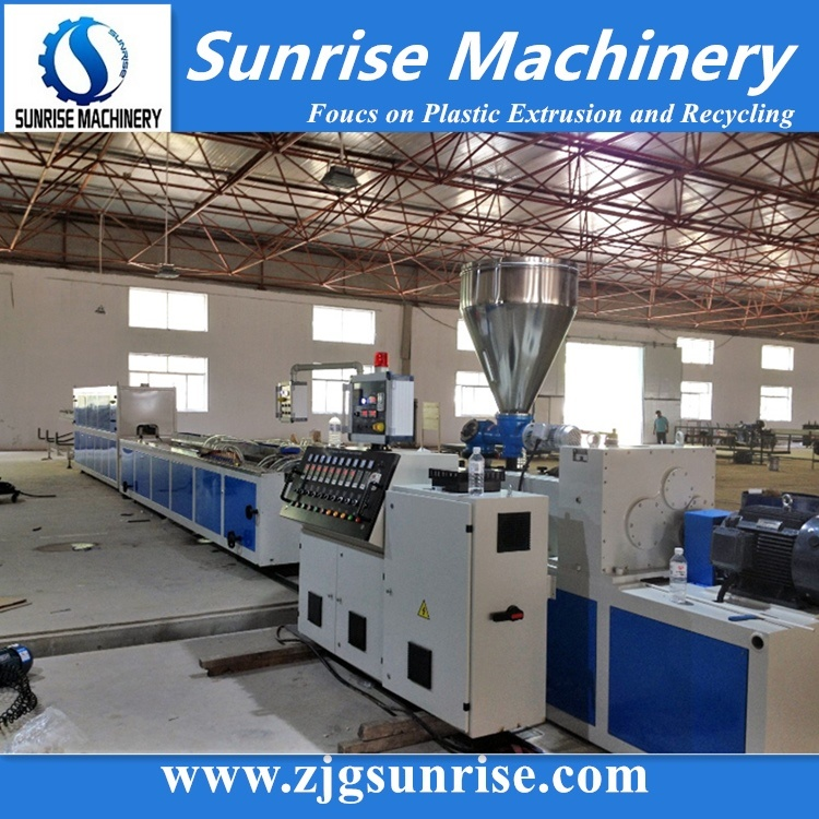 PVC Wire Cable Trunking Profile Making Machine