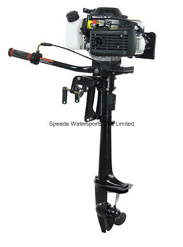 China Air Cooled 4 Stroke 3.6HP Hangkai Outboard Engine
