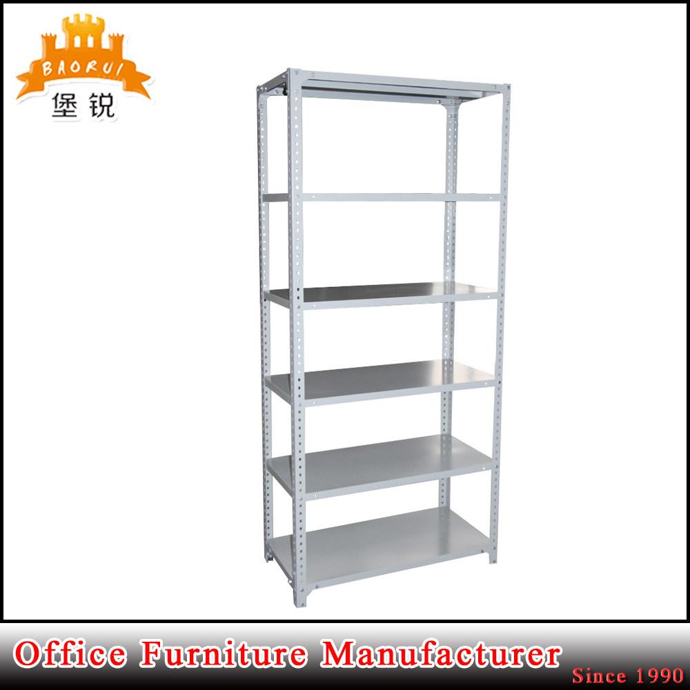 5 Layer Steel Goods Storage Rack Metal Supermarket Display Shelf