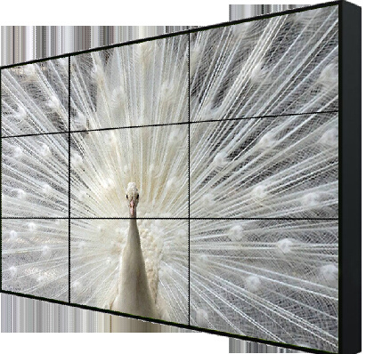 Indoor LCD Commercial video Wall with Narrow Bezel