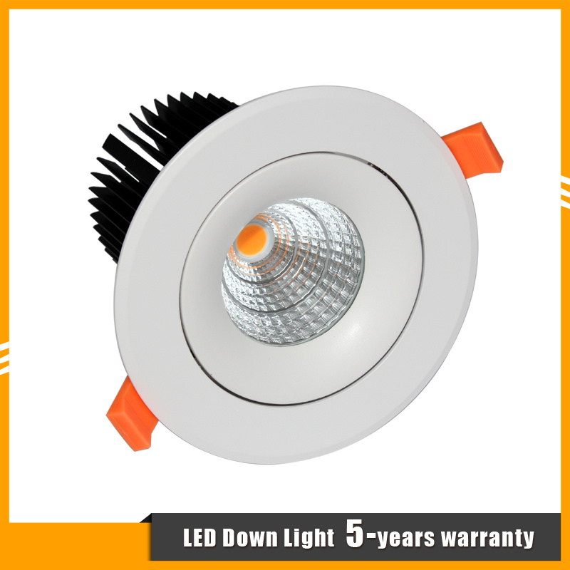 High Quality 20W CREE COB LED Spot Lighting/Recessed LED Downlight