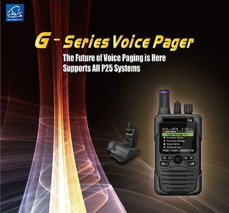 Dmr&P25 Conventional Voice Fire Pager, for Firefighter Volunteer Fire Fighting Department