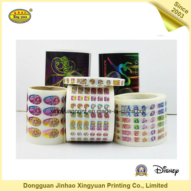 Waterproof Sticker Roll Self Adhesive Stickers (JHXY-AS0015)