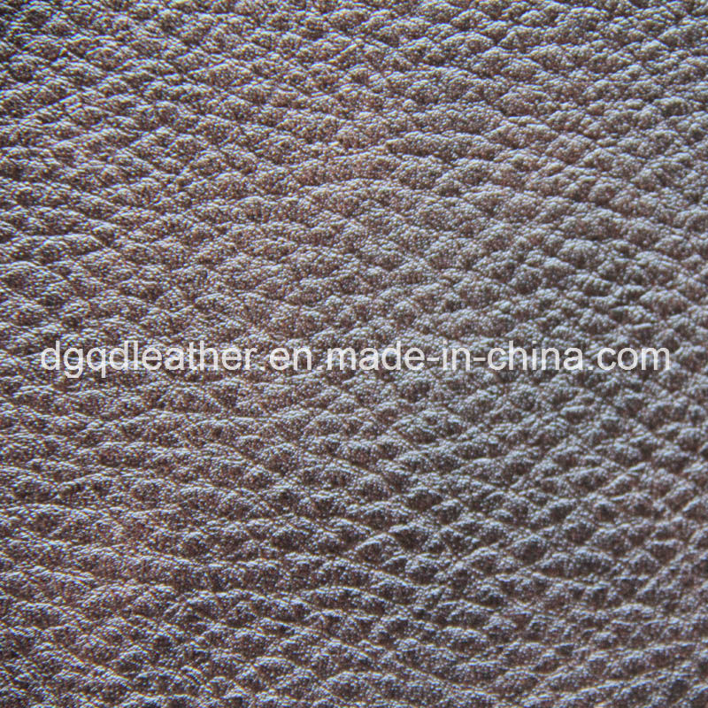 Embossed Two-Tone PU Artificial Leather (QDL-52150)