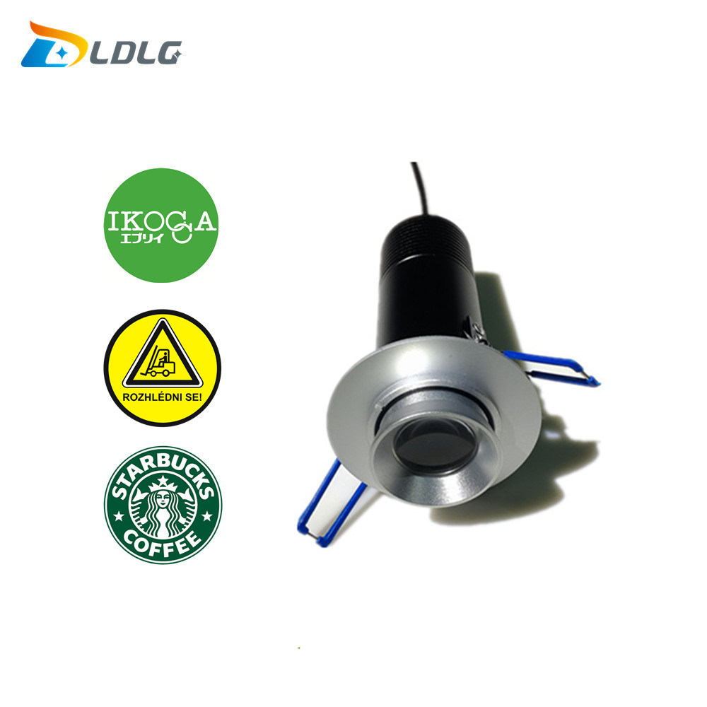 10W LED Logo Gobo Projector Ceiling Recessed Lights for Safety Arrow