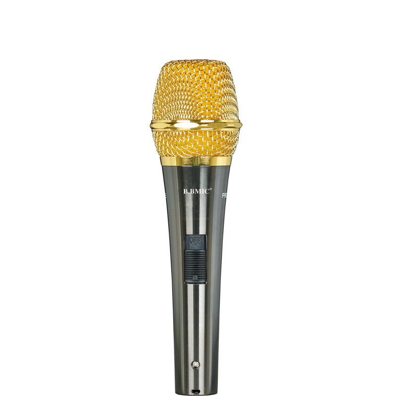 Home Karaoke Condenser Microphone with Wire for Computer Karaoke