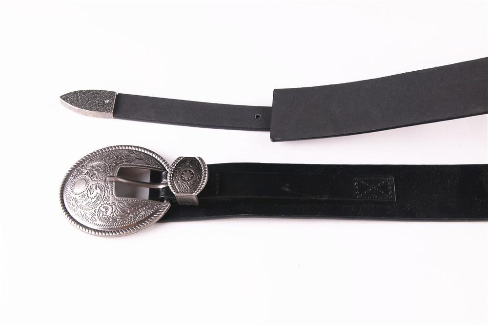 New Ladies PU Western Style Belt Retro Belt--Jbe1612