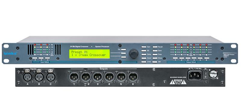 3.24cl Professional Audio Speaker Digital Processor