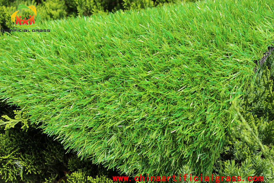 Four Colour Landscape Artificial Grass From Chinese Factory