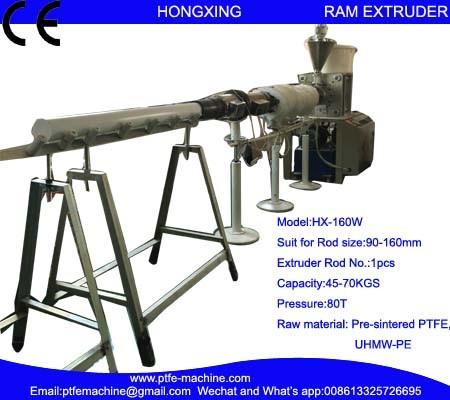 Hx-160W RAM Extrusion Machine for PTFE Rod