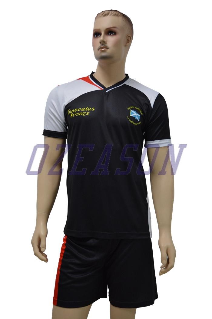 2016 Hot Sale Sportswear Wholesale Customized Men′s Soccer Uniforms (S001)