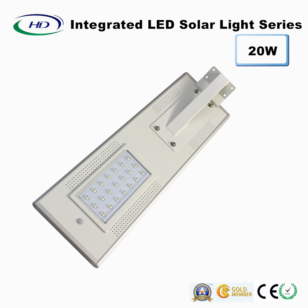20W PIR Sensor Integrated Solar Garden Light