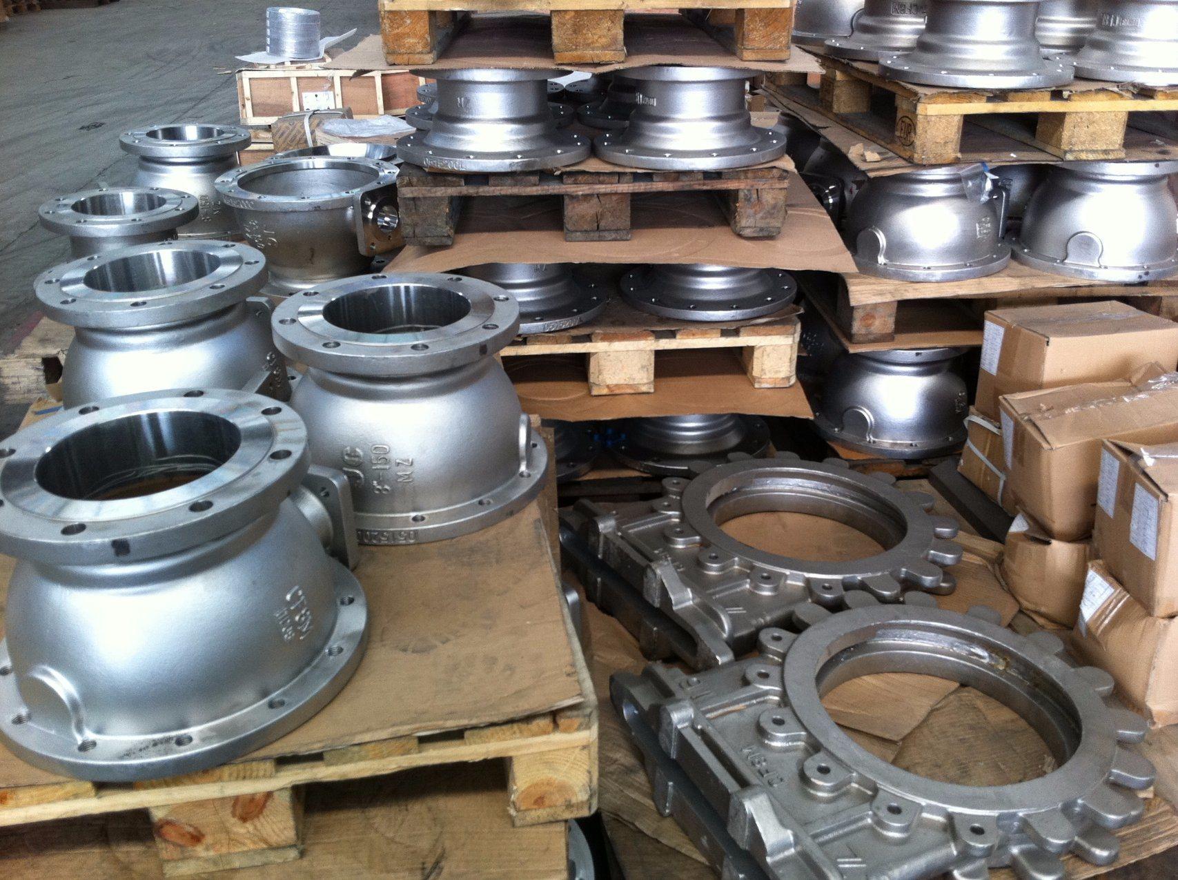 Ball Valve Body Parts Body Bonnet Casting Carbon Steel Casting