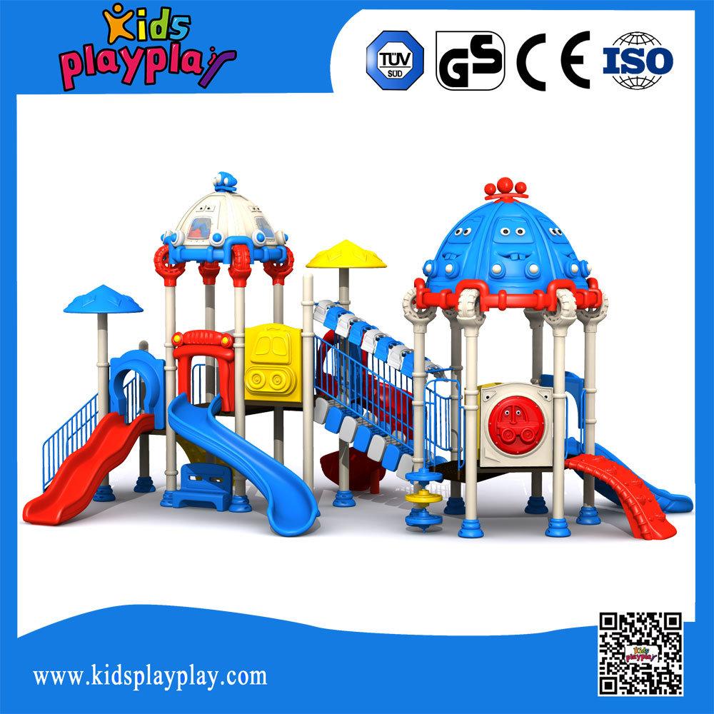 Popular Kid Playground Equipment Outdoor Playground with Slide (KP1512438)